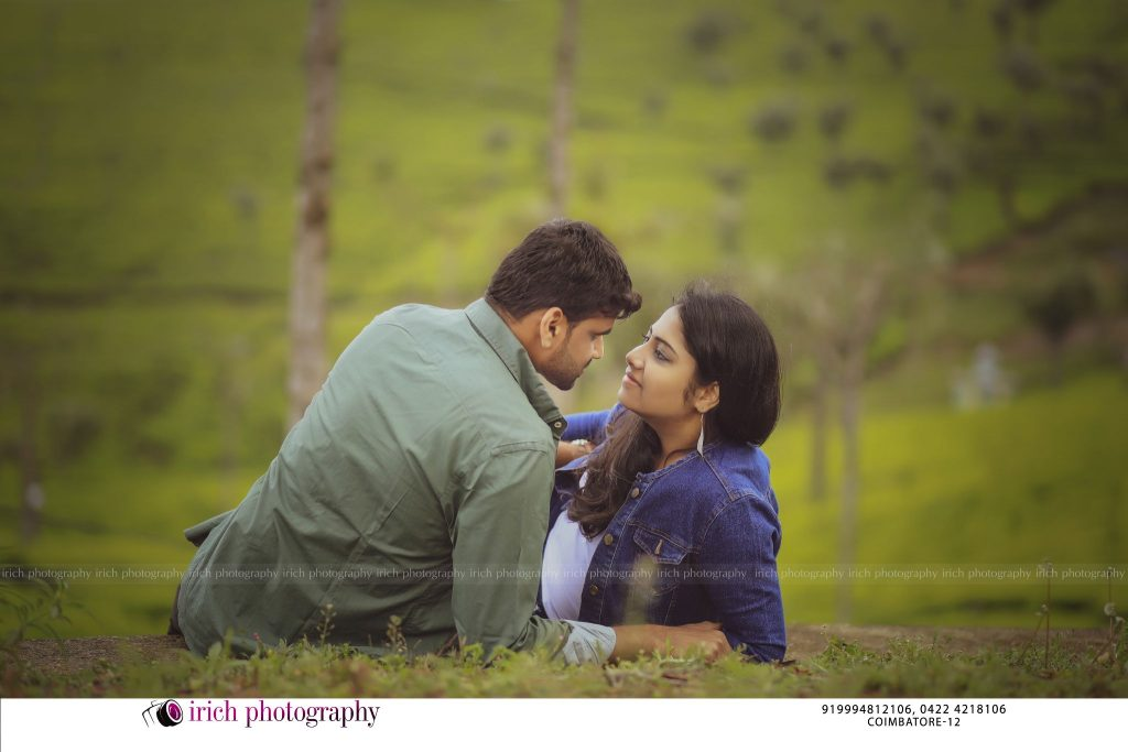 Lovely Couple In Hills