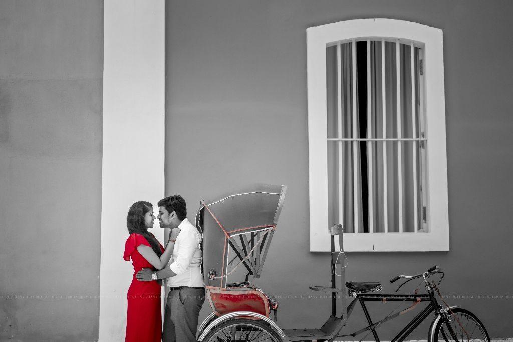 PRE WEDDING SHOOT PONDICHERRY