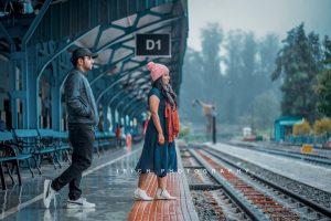 OOTY TRAIN PHOTOSHOOT