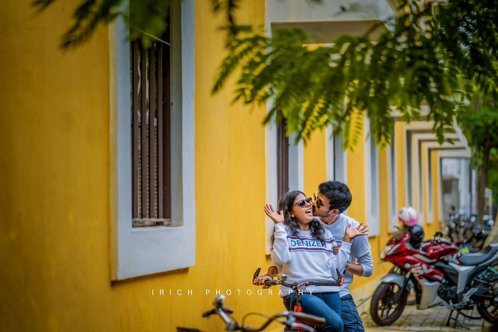 POST WEDDING SHOOT IN PONDICHERRY