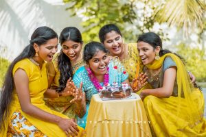 HALDI CEREMONT AT TAMIL WEDDING